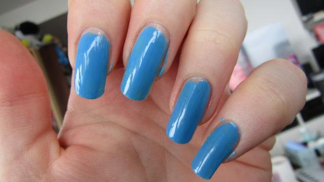 Blue Ombre Nail Art | Nail Art Tutorial - The Nail Chronicle